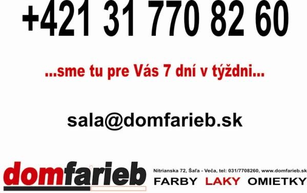 DOM FARIEB SALA - kontakt