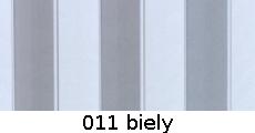 harmonikové dvere Accordion: farba 011 biely