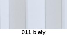harmonikové dvere Crystalline Royal: farba 011 biely
