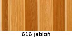 harmonikové dvere Pioneer: farba 616 jabloň