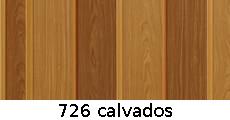 harmonikové dvere Pioneer: farba 726 calvados
