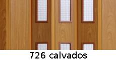 harmonikové dvere Pioneer Glass: farba 726 calvados
