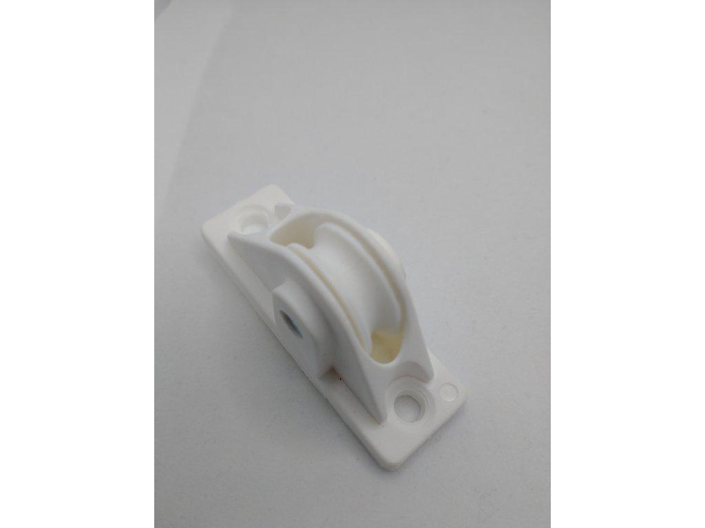 Plastová kladka pre guľatú šnúru