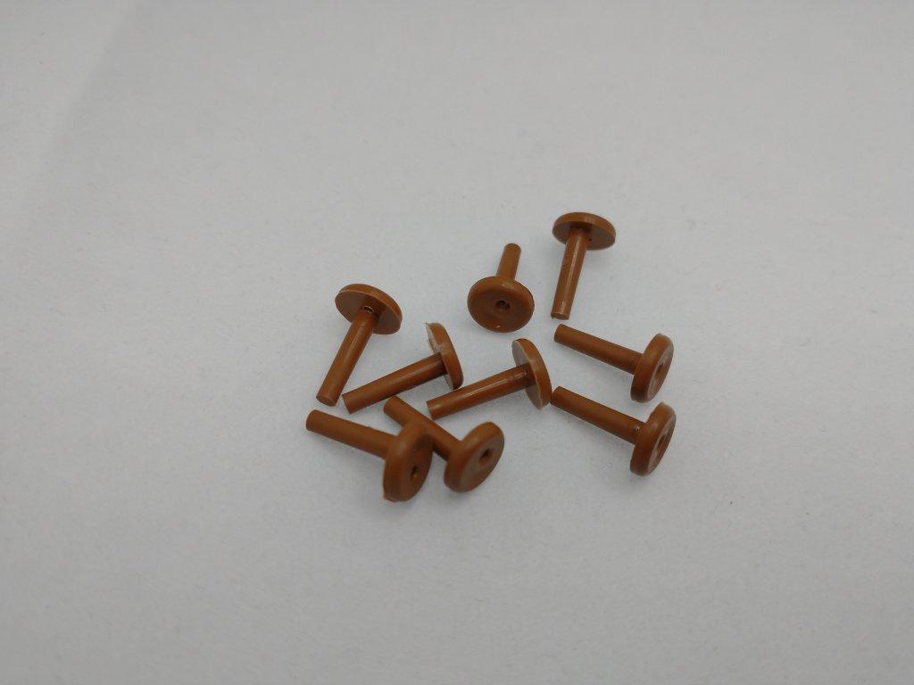 Fixačný kolík silónu žalúzie RAL 8003 zlatý dub