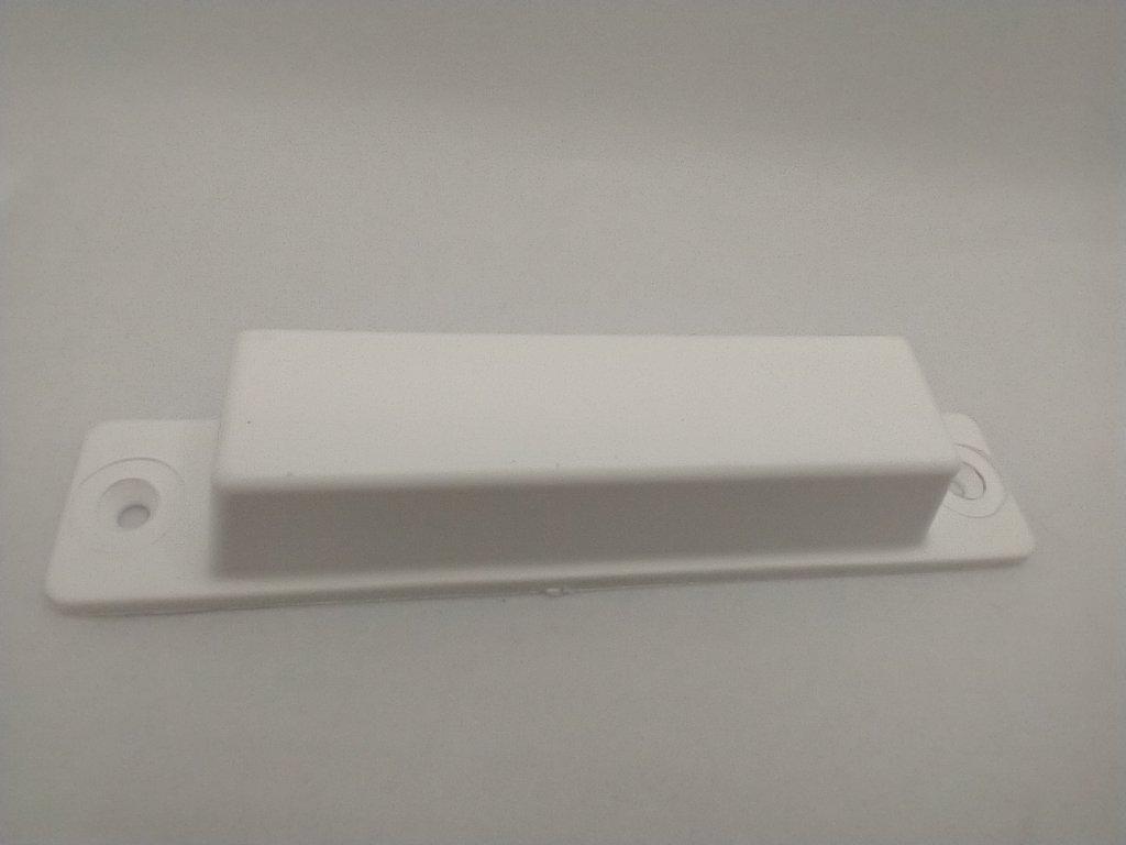 Plastová úchytka pre sieťové dvere biela
