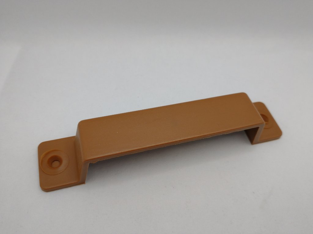 Plastová úchytka pre sieťové dvere RAL 8003 zlatý dub