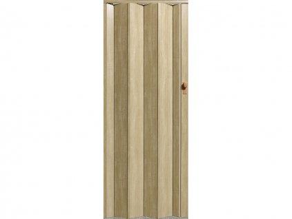 harmonikové dvere Crystalline Royal farba dub sonoma 326