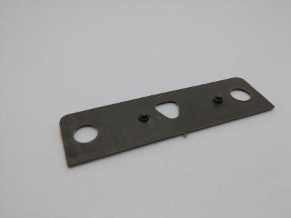 Podložka pod pánt pre sieťkové dvere hnedá 1 mm