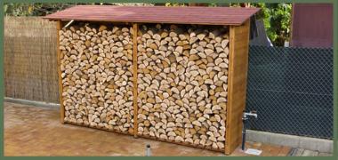 Jak správně skladovat palivové dřevo?