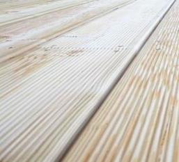 Terasy z jehličnatých dřevin