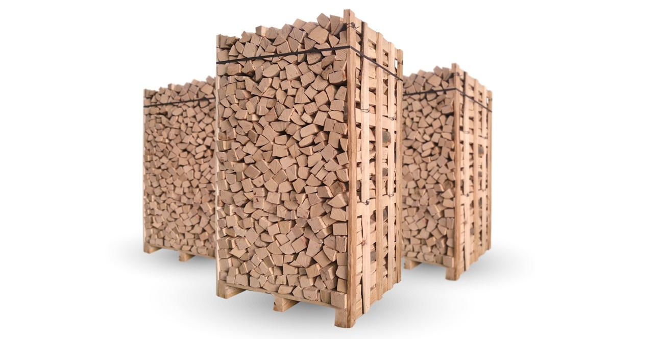 Dřevo na topení - paleta