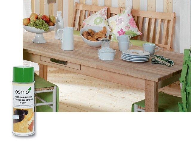 Prostředky na údržbu dřeva Interiér