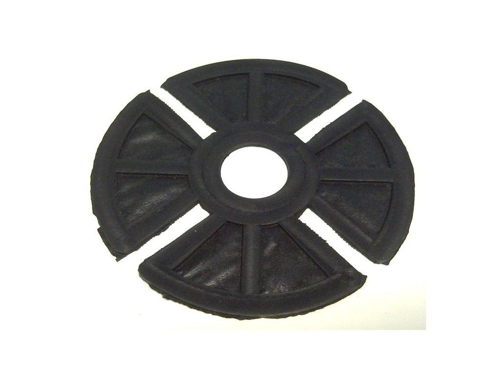 vložka gumová tlumicí S, průměr 108 x 1,3 mm, černá