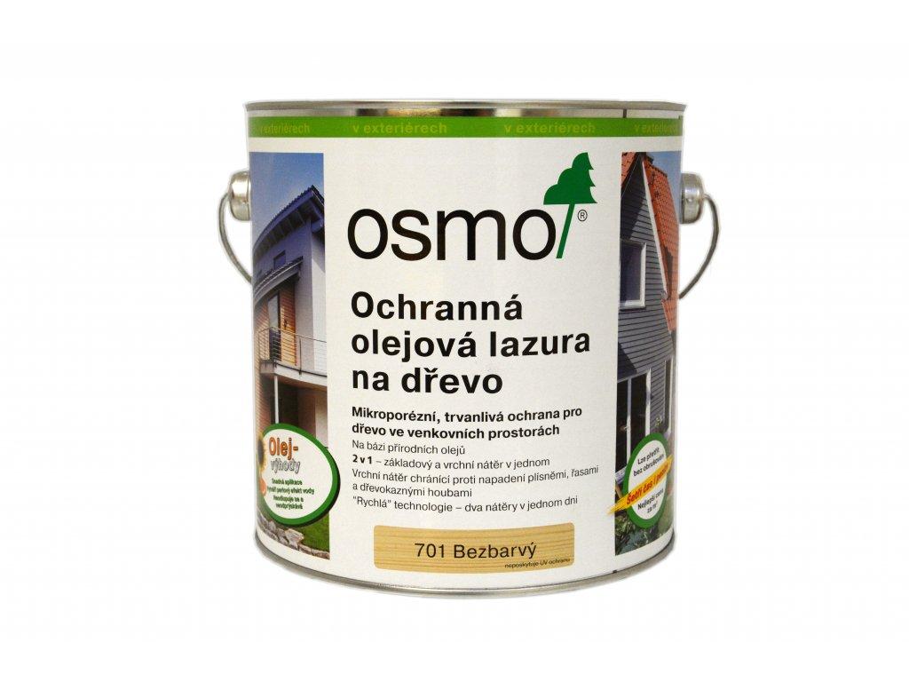 701 Ochranná olejová lazura na dřevo