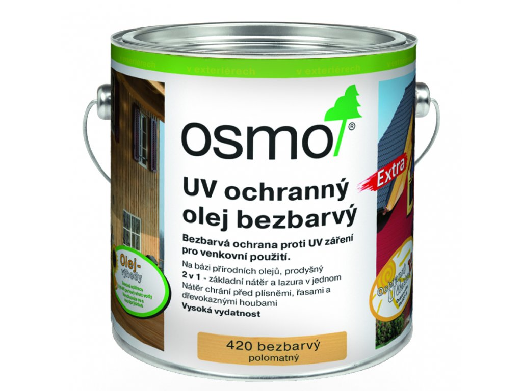 UV OchrOlej Bezbarvy 420 2,5