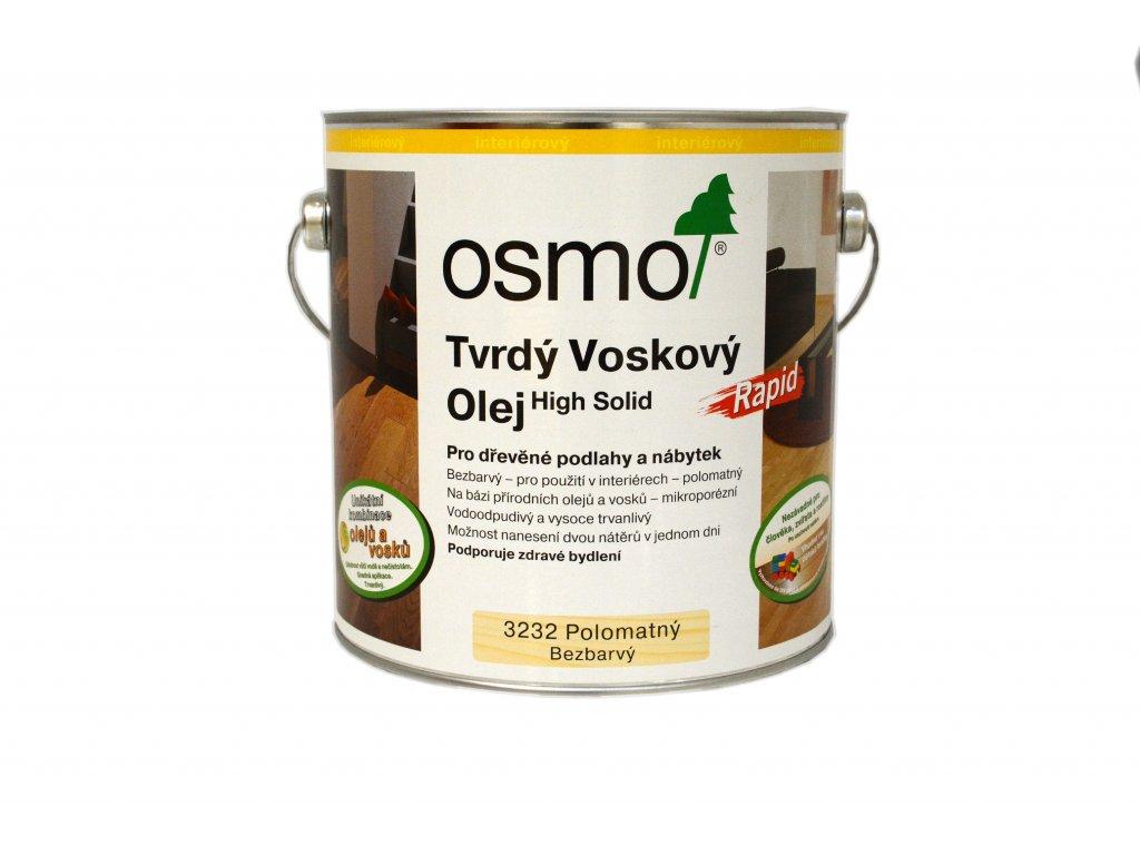 3232 Tvrdý voskový olej Rapid