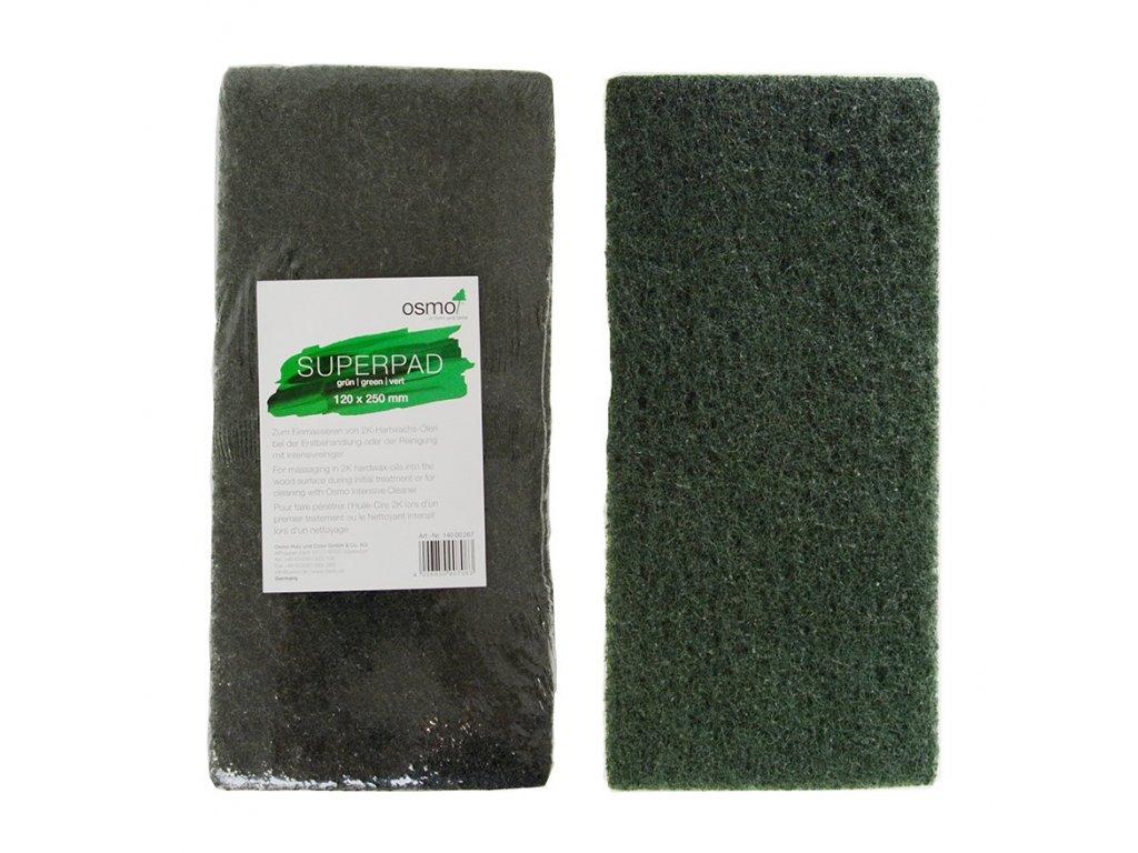 superpad zeleny 120 x 250 mm