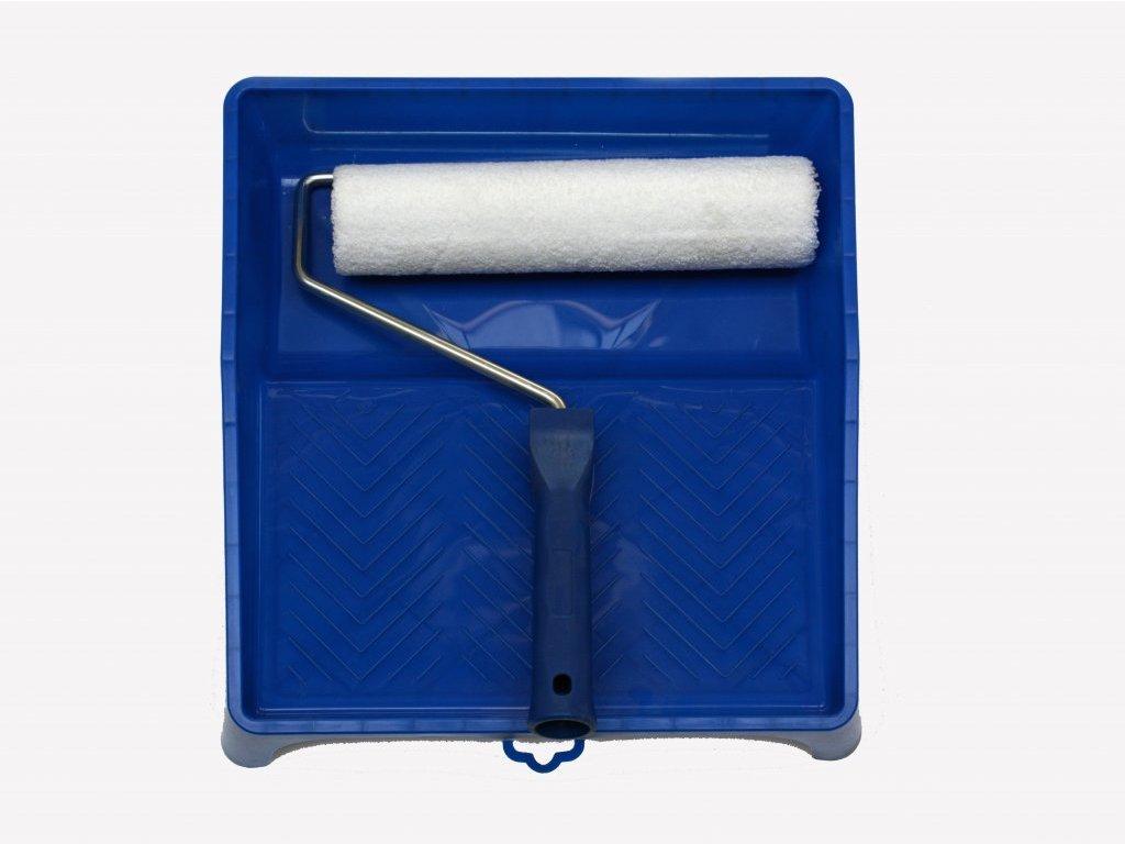 Sada 25 cm váleček se zasouvacím držákem + vana s odkapavací mřížkou