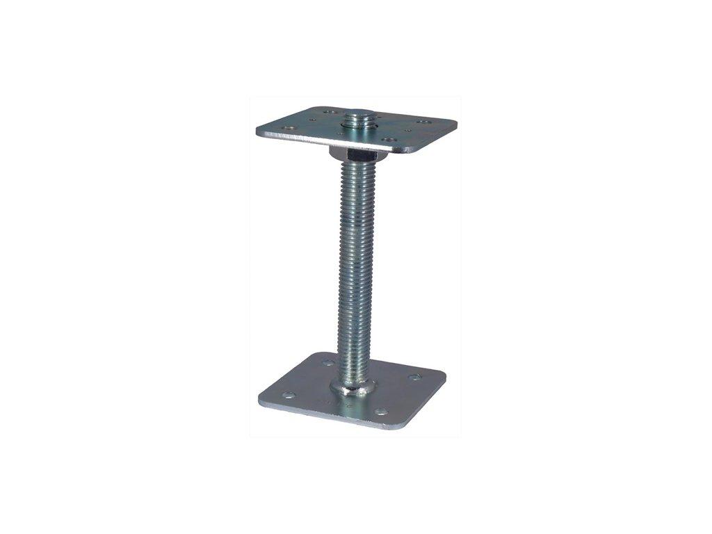 Patka pilíře 110x110-200 mm, matice  M24 přivař