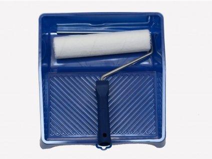Sada 25 cm váleček se zasouvacím držákem+ vana s odkapavací mřížkou+ 2 vyměnitelné vložky
