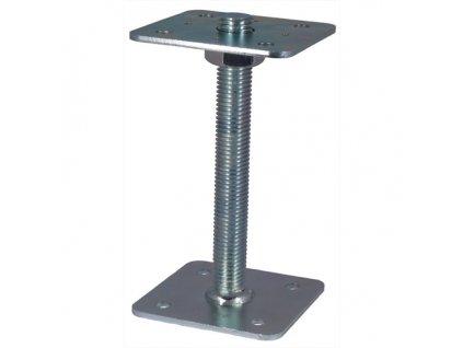 Patka pilíře 110x110-250 mm, matice  M24 přivař