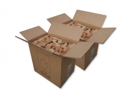 Box hranolky white