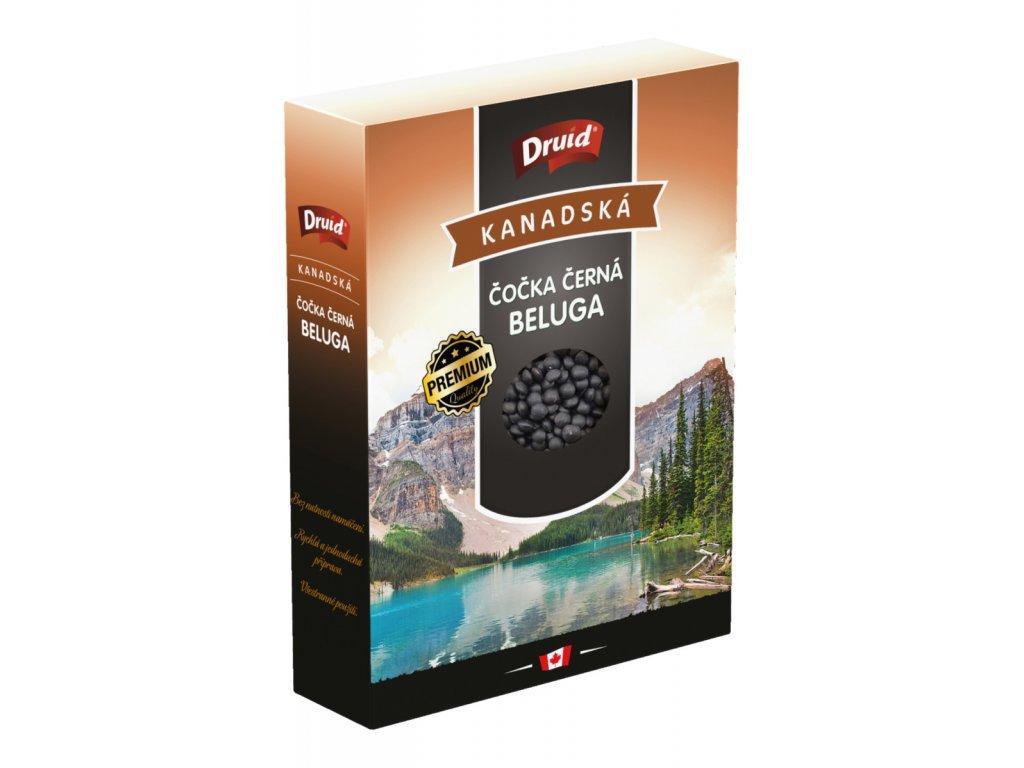 Čočka černá kanadská Beluga PREMIUM krabička