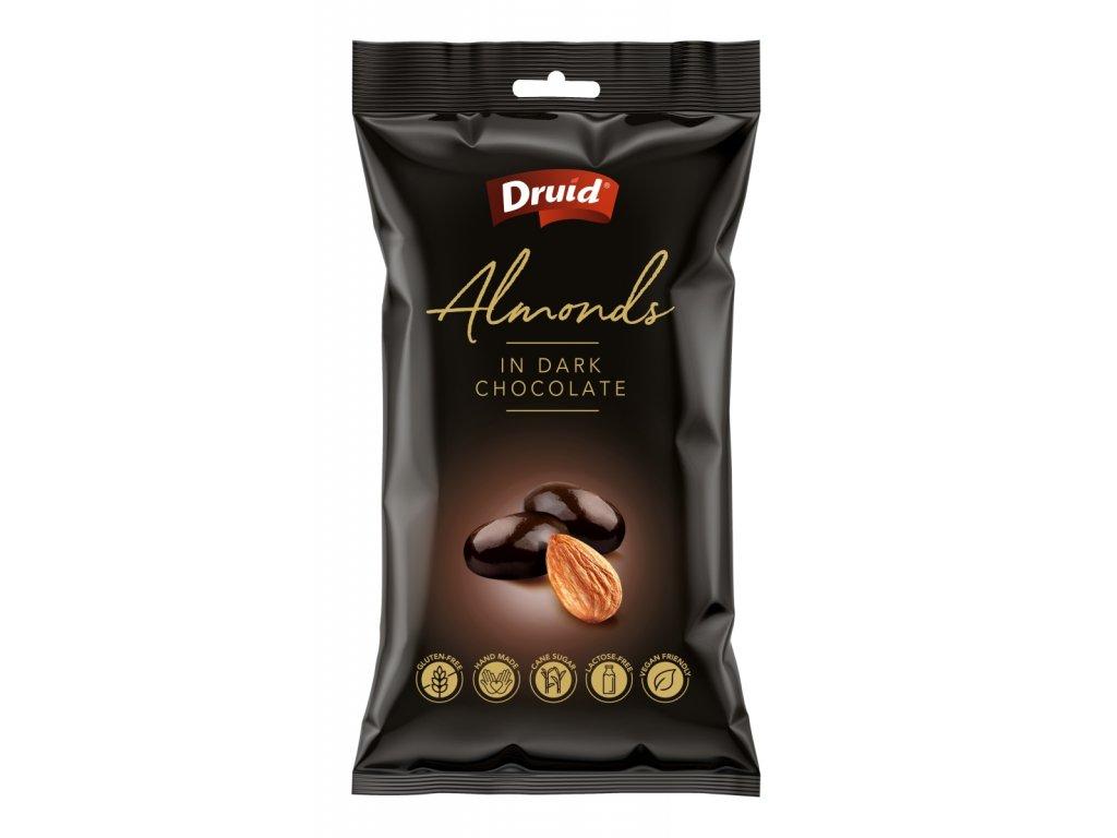 Mandle v hořké čokoládě DRUID