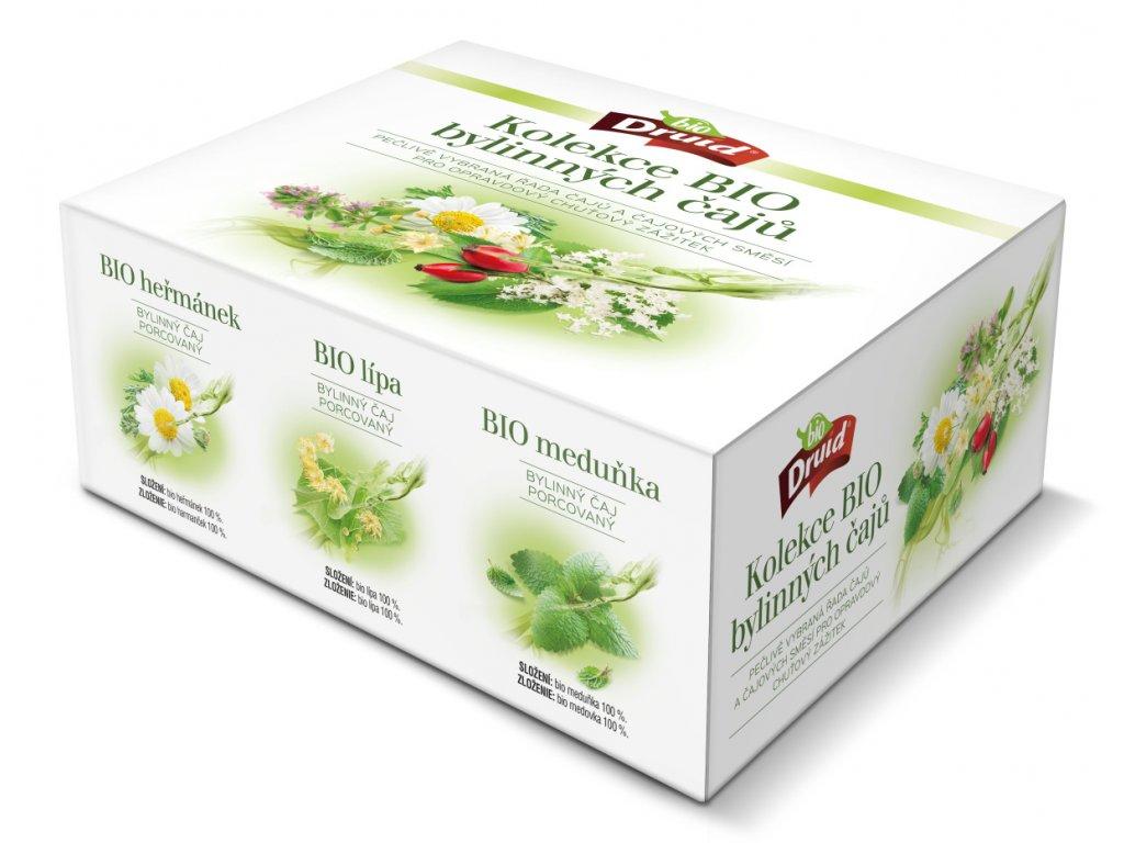 Dárková kazeta BIO čajů DRUID
