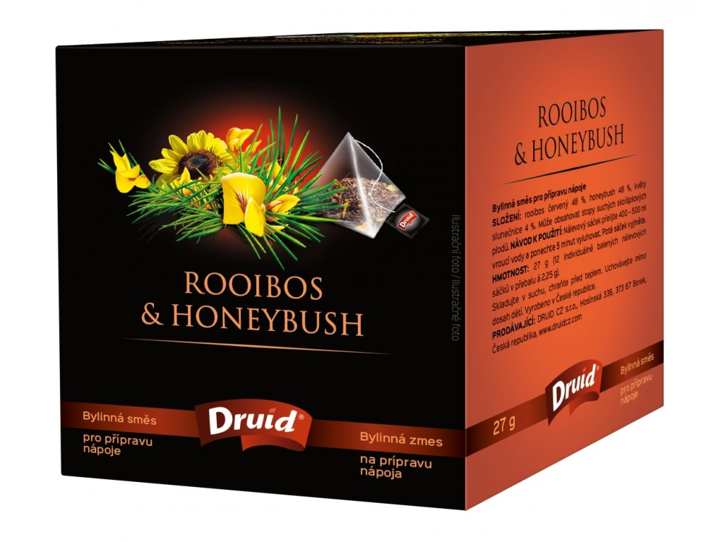 Rooibos & Honeybush bylinný čaj DRUID