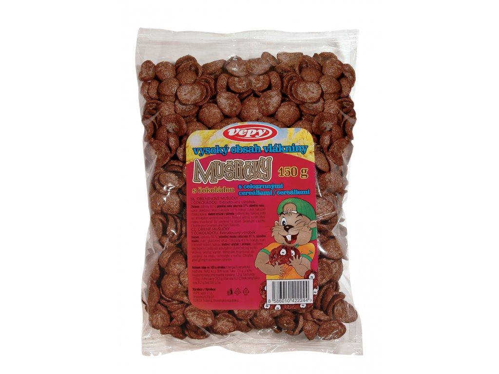 Mušličky s čokoládou 150 g