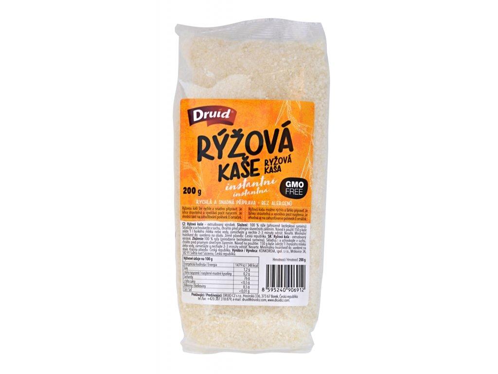 Rýžová kaše instantní DRUID