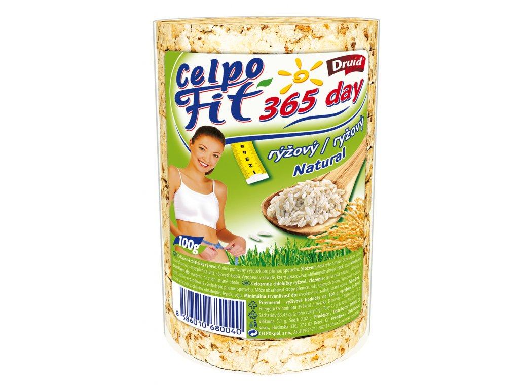 Chlebíčky celozrnné rýžové DRUID