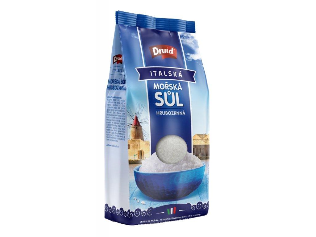 Mořská sůl hrubozrnná italská DRUID