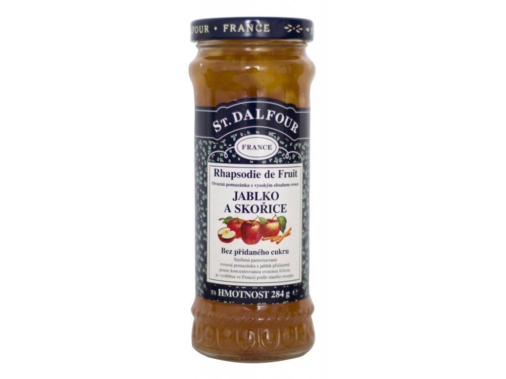 St Dalfour jablko, skořice ovocná pomazánka
