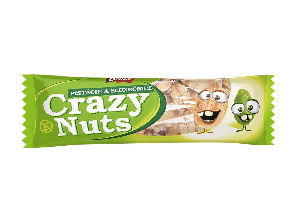 Crazy Nuts Pistácie a slunečnice DRUID