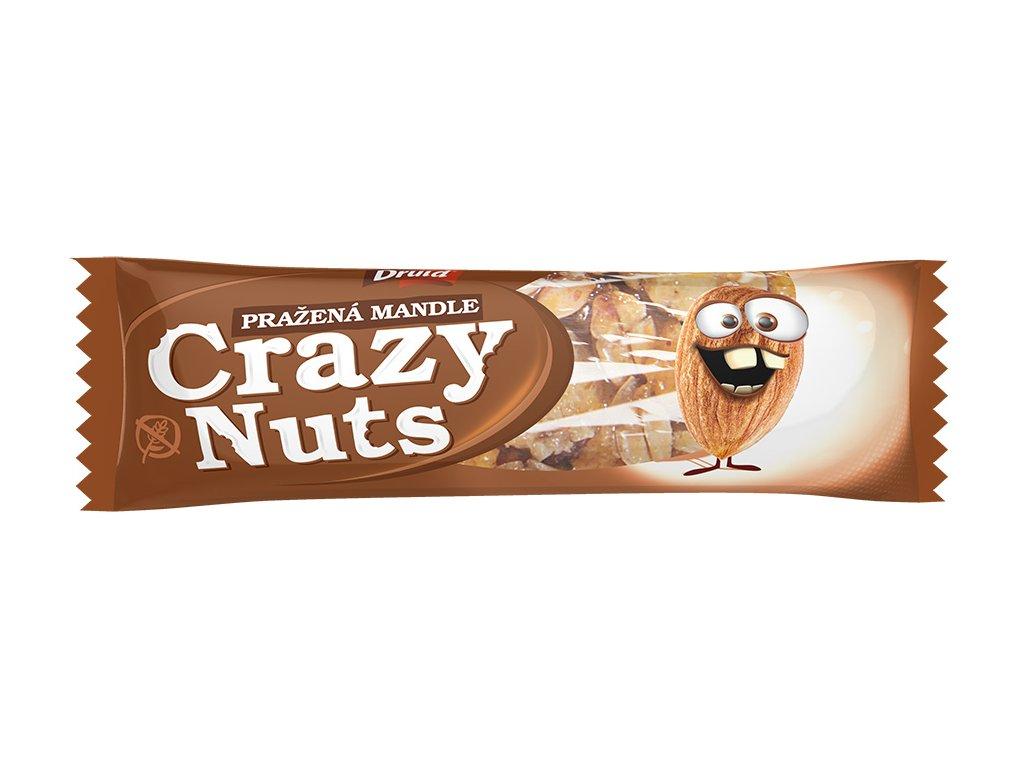 Crazy Nuts Pražené mandle v mléčné čokoládě DRUID