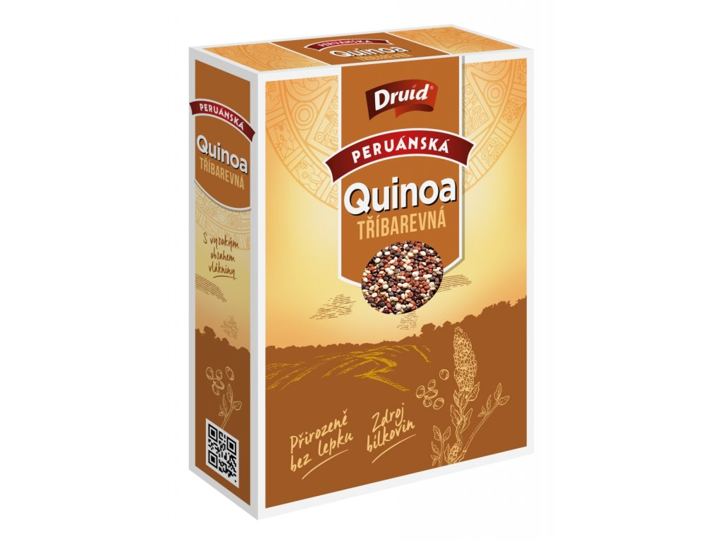 Quinoa tříbarevná peruánská DRUID