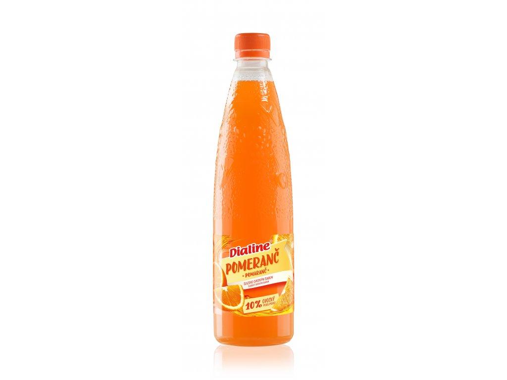 Dialine Pomeranč s ovocným cukrem DRUID 650 ml
