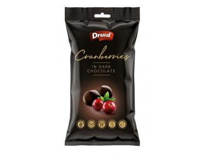 Brusinky v hořké čokoládě DRUID