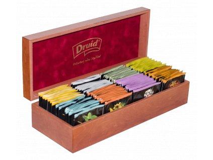 Dárková kazeta prémiových čajů DRUID