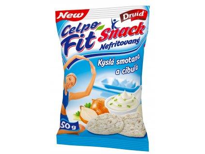Fit Snack Smetana a cibule 50 g DRUID