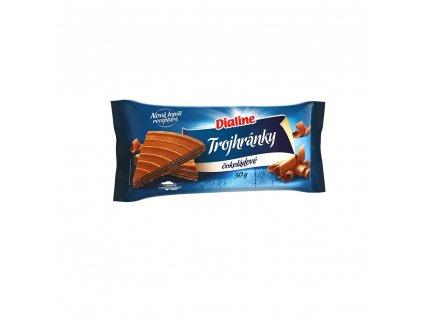 Dialine trojhránky čokoládové