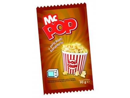 MC POP s příchutí karamelu DRUID