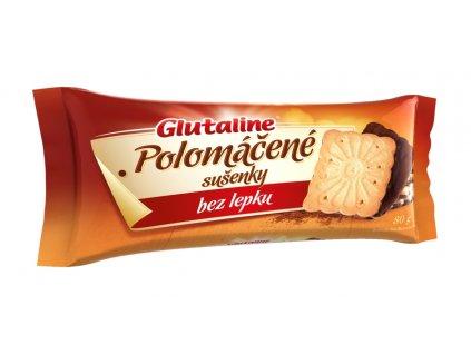 Glutaline polomáčené sušenky bez lepku 80 g DRUID bez stínu