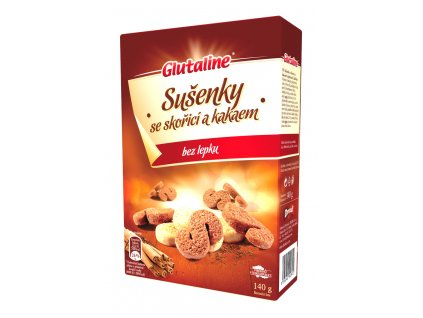 Glutaline sušenky se skořicí a kakaem bez lepku (Esíčka) DRUID