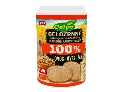 Chlebíčky 100% Natural Oves DRUID
