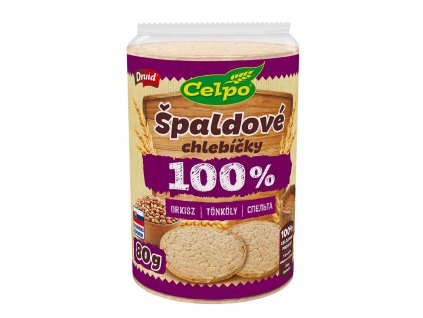Chlebíčky 100% Natural Špalda DRUID