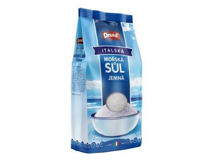 Mořská sůl jemná italská DRUID