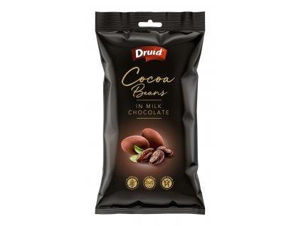 Kakaové boby v mléčné čokoládě DRUID